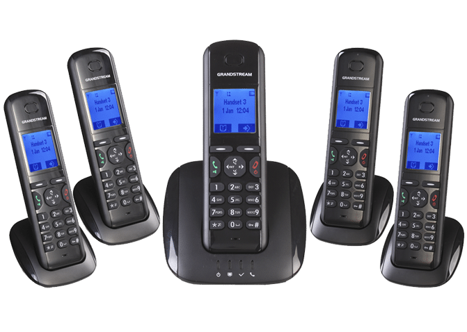 Grandstream DECT Cordless IP Phones DP715 / DP710