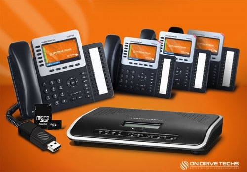 Grandstream GXP2160-P4 Phone System Package